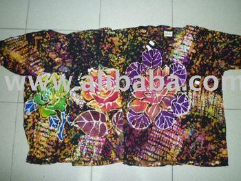 Viscose silk batik t shirt buy viscose silk t shirt for Men s batik bay silk blend button down shirt
