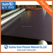 PVC Decorative Plastic 8x4 Foot Grey Colour Sheet for Thermoforming Food Grade