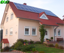 2kw solar power system home with solar off grid inverter hybrid system