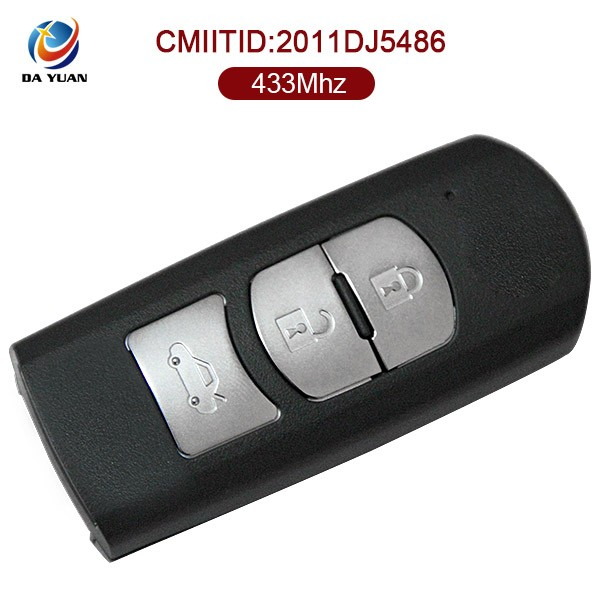 433Mhz Auto card key for Mazda 6 original remote smart control 3 button AK026016