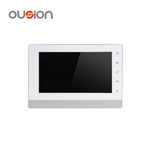 "dahua 7"" TFT Capacitive touch screen IP Indoor homemade video door phone intercom Monitor VTH1550CH"