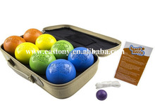 Beach Bocce Ball Beach Bocce Ball Set with Carrying Case - 74mm