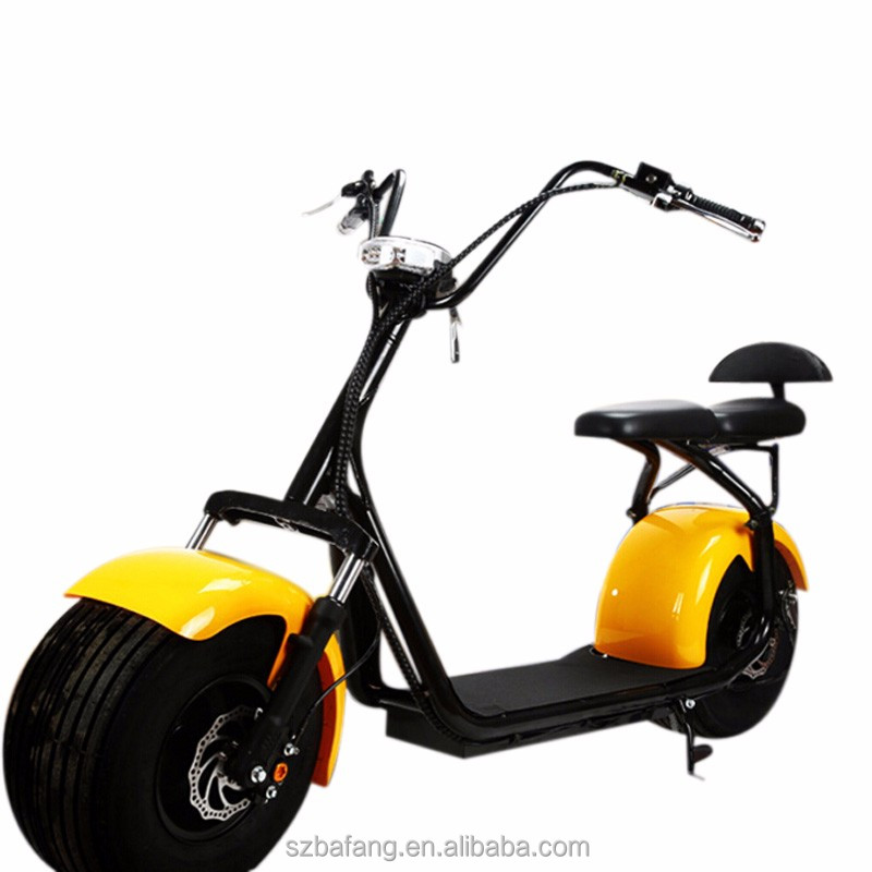 free tax chinese electric car eec E scooter wide tires Storage battery car motocicleta citycoco with kids seat