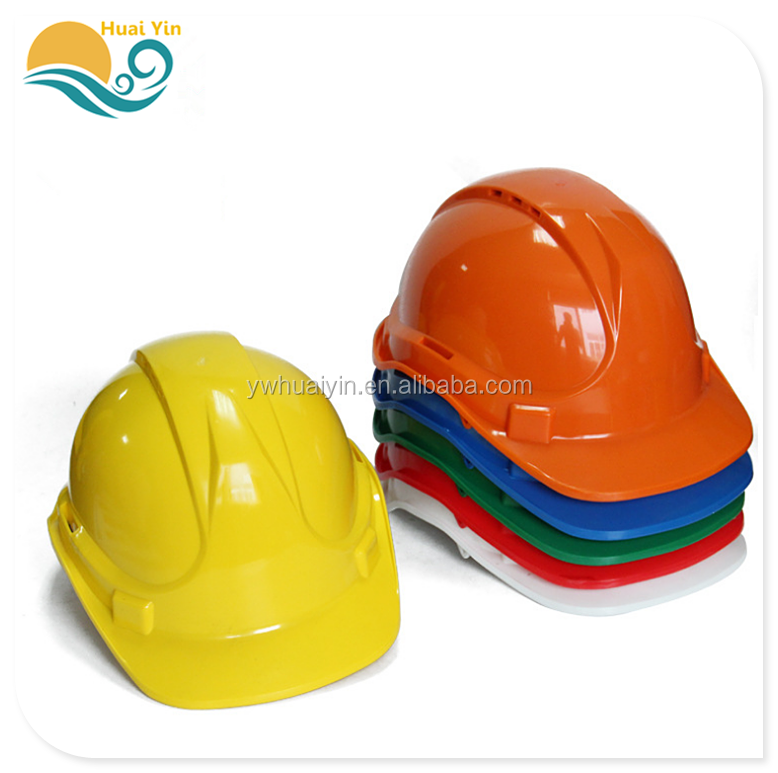 Factory direct construction site anti-smashing protective helmet V-type breathable anti-shock safety helmet
