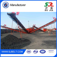 Mining Equipment Parts/Belt Conveyor System With Durable Belt