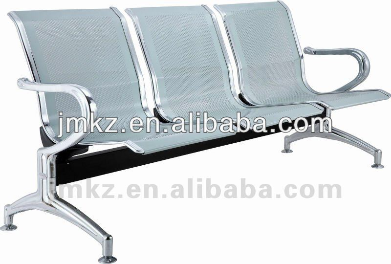 Offiice chair furniture chair 3-seater metal waiting chair