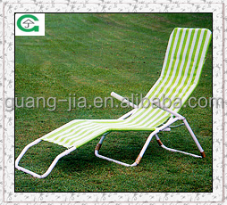 garden lounge set/outdoor lounge bed/aluminum camping chair