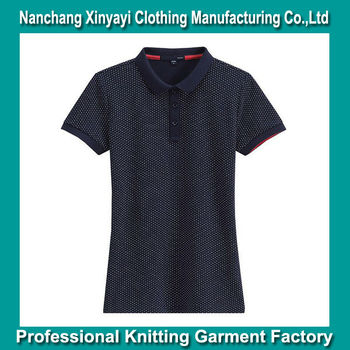Garment Buying Agents! New Brand Garments Name / Two Color Polo T Shirt Design