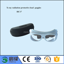 China side x-ray protective lead glasses