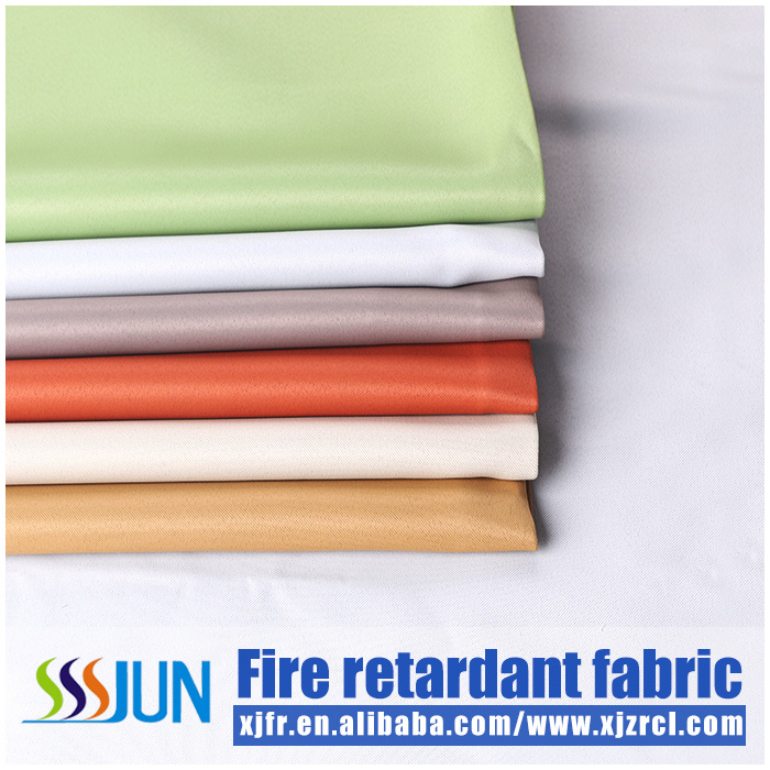 BS5867,M1,B1 Inherently flame retardant blackout fabric for luxury hotel curtain