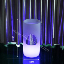 night club color changing illuminated led lighting bar chair bar stool