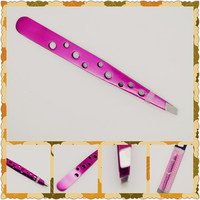 Professional eyebrow tweezer scissor for wholesales
