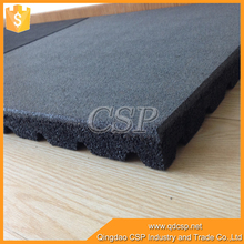 Non-slip shock absorption blue anti-slip rubber mat for stairs