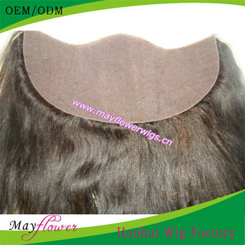 Best hair full silk base closures yaki straight lace frontal