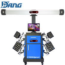 DAYANG computerised miller 3d car wheel alignment machine