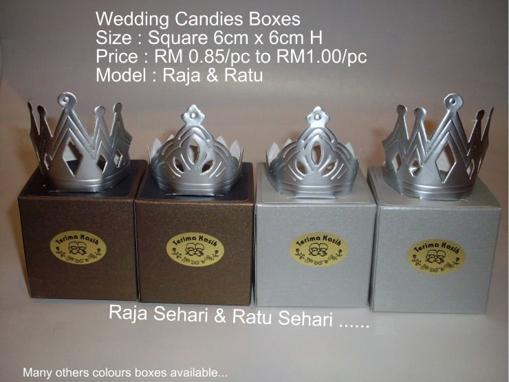 Wedding Candies Boxes