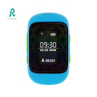 waterproof gps tracking watch kids gps tracker bracelet small tracking device chip R12