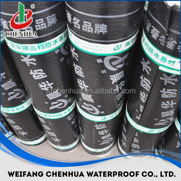 3mm/4mm/5mm APP/SBS bituminous waterproofing membranes