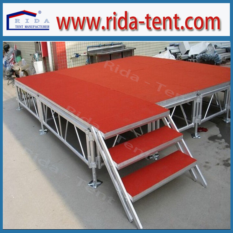 Best quality stage draping with steel pipe