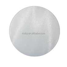 clear tempered glass cutting board high quality tempered round glass cutting board