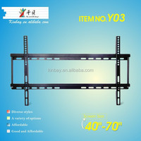 Electronic fixed samsung lcd plasma set tv mount tv up to 70 inch