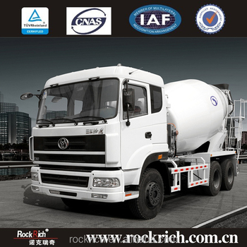 Hot Sale 8 Cubic Meters Cement Concrete Mixer Truck Price