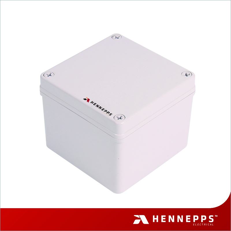 HENNEPPS China Produce Weatherproof Control Box Fire-resistant IP66 Movable Indoor/Outdoor Watertight Enclosure