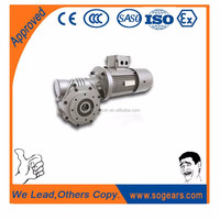 Low RPM Electric Motor 375 Watt with Gear From Cement Mixer
