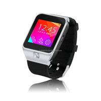 Cheap price of 1.54 inch Touch Screen Smart Watch Phone with Single SIM MP3 Bluetooth