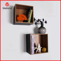 hanging wooden boxes wall decorative