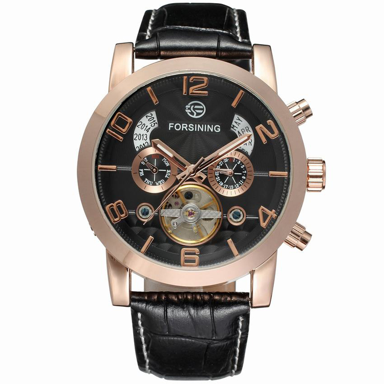 FORSINING 082 2016 Luxury Brand <strong>Men's</strong> Skeleton Automatic customer logo watches watches for <strong>men</strong>