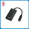 Micro USB 5P to HDMI HDTV Adapter for Mobile Phones