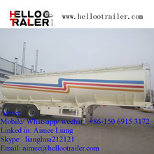 45000L fuel tanker truck semi trailer