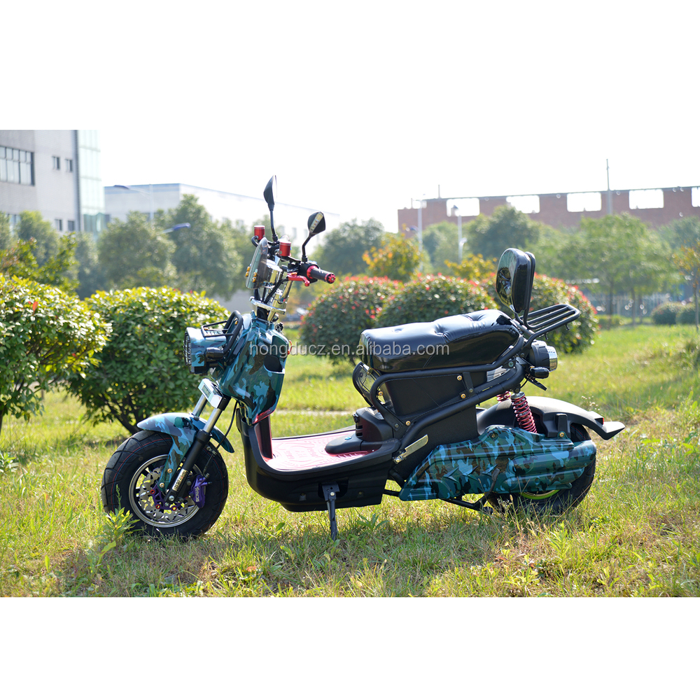72v 1000W vespa electric scooter,2 wheel electric standing moped scooter for sale