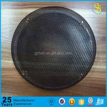 Black color speaker cover mesh, speaker grill wire mesh, iron grill cover mesh