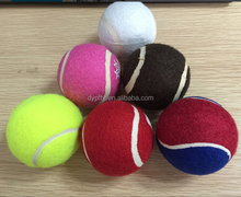 buying in bulk wholesale multi color dog tennis ball for pets
