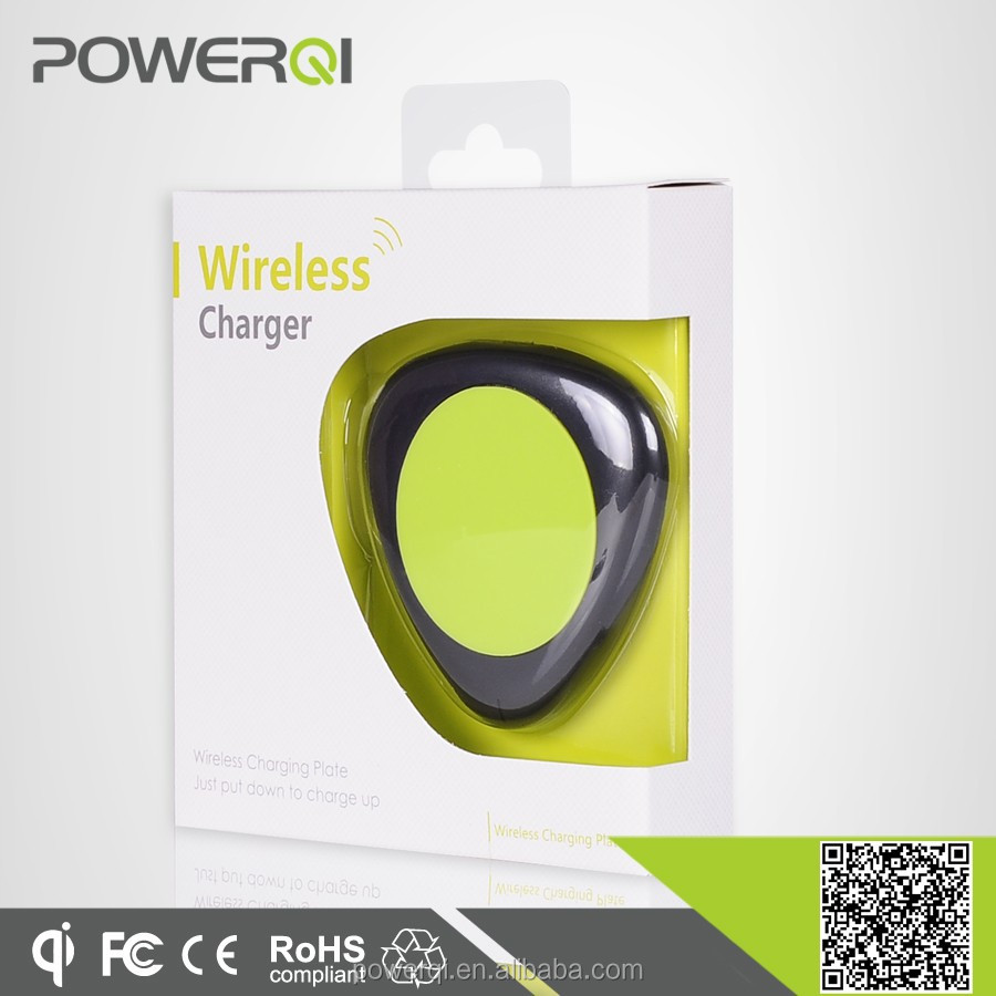 Qi certified mini portable wireless charger for lenovo mobile phone