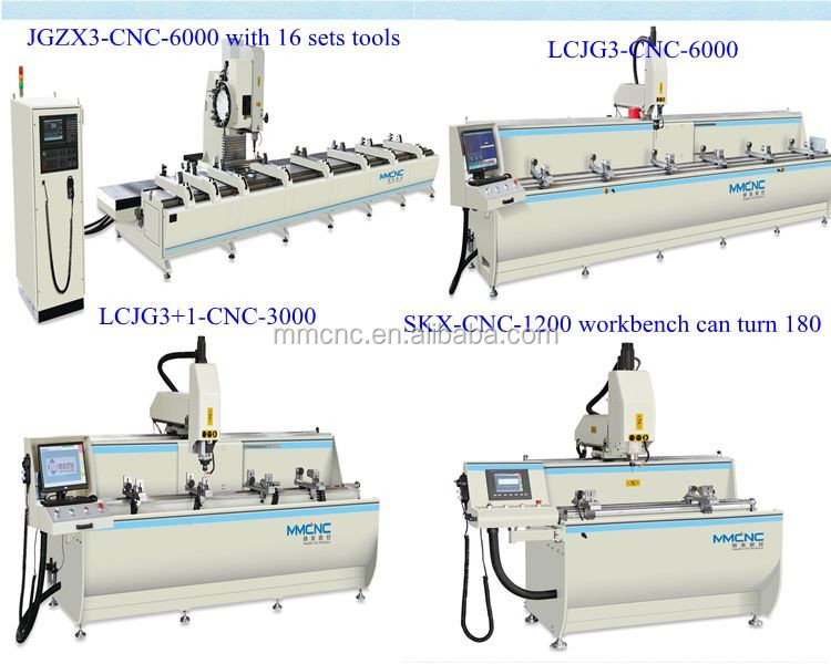 high quality cnc router machine centre with ATC 8 position door making maching