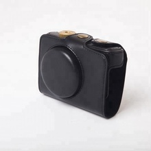 PU Leather Camera Case Bag Cover forLeica C for Panasonic LUMIX DMC-LF1