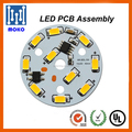 Round driverless led pcb board led module for downlight and bulb light