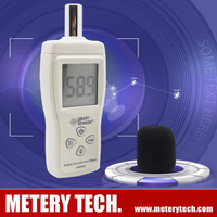 Digital noise sound level meter