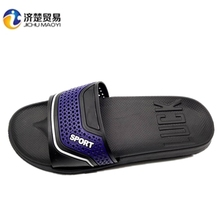 Wholesale Outdoor slippers for men in 2017 fashion sport hollow outsole shoes EVA slippers