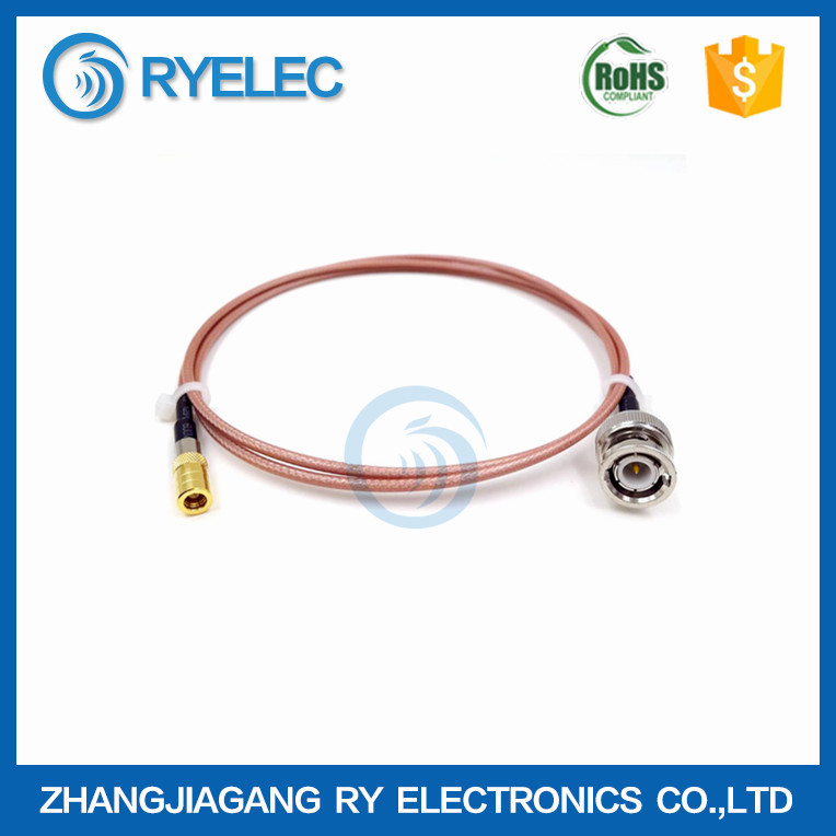 0-6GHZ high gain RG316 BNC male to SMB female plug 50 ohm RF coaxial cable
