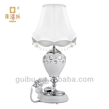 Antique Style European Diamond Table Lamps with Telephone factory