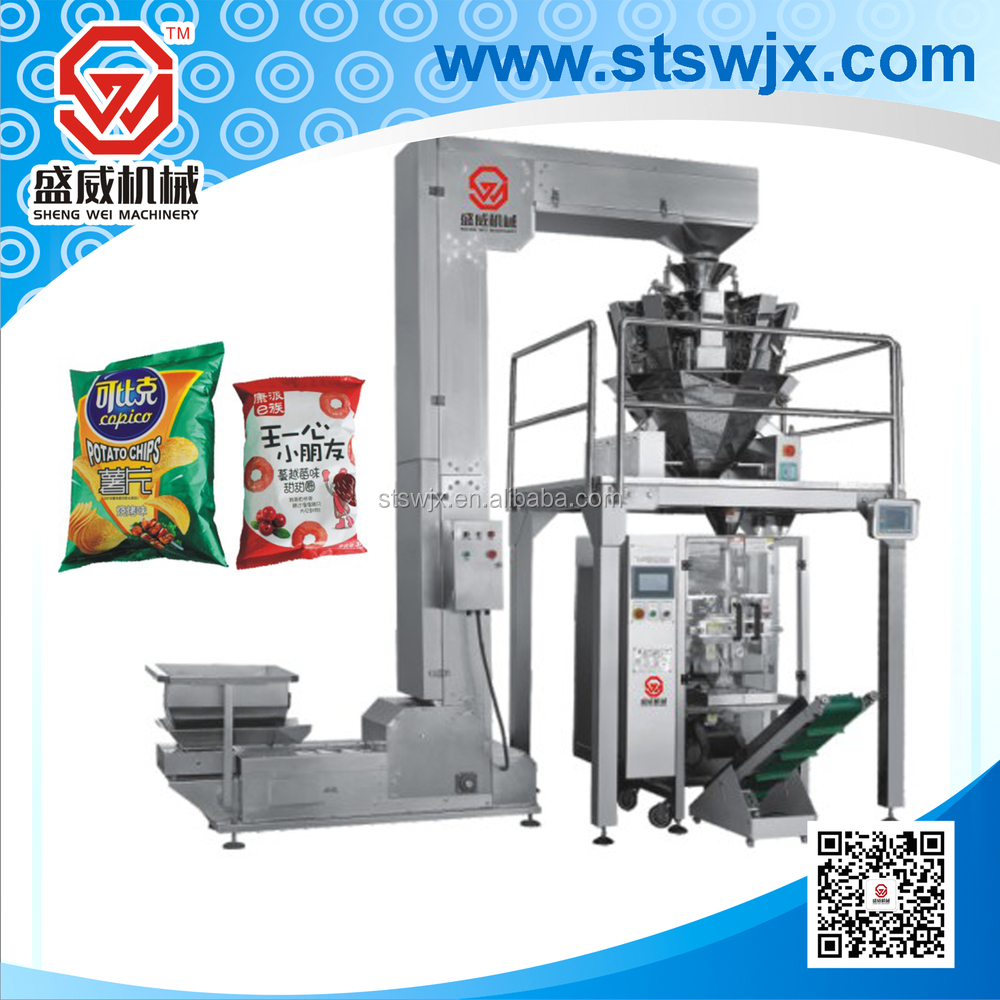 automatic counting and packing machine