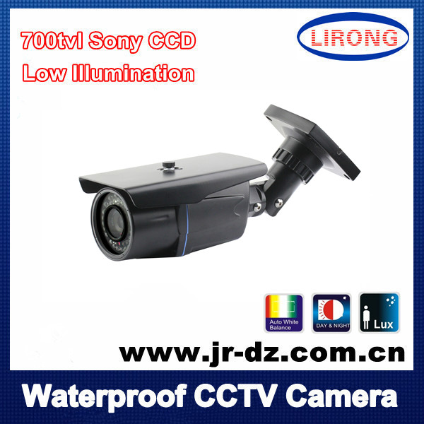 Security Surveillance Camera sony CCD IR night vision 24LED 700tvl outdoor CCTV night vision NTSC/PAL