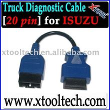 Isuzu truck scanner 20 pin cable in stock