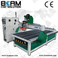 High Precision 3d crystal laser engraving machine BCM1325C CNC Router with linear