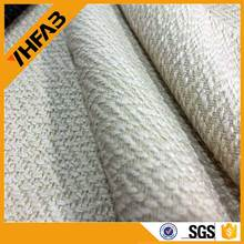 100% polyester linen look fabric linen factory plain dyed Linen sofa cloth/new design sofa cover cloth