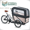 tricycle two front wheels Nexus 7speeds bikes 36V 9A Li-ion electric cargobike/bakfiets/cargo bicycles UB9036E